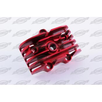 Aircooled head 32mm- CNC - RED - RC OFF ROAD  /  ON ROAD